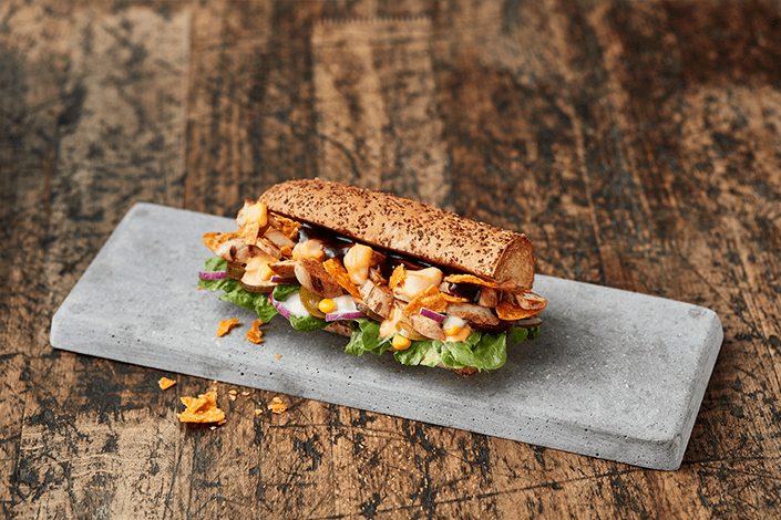 Crunchy Chicken Sub Kreation