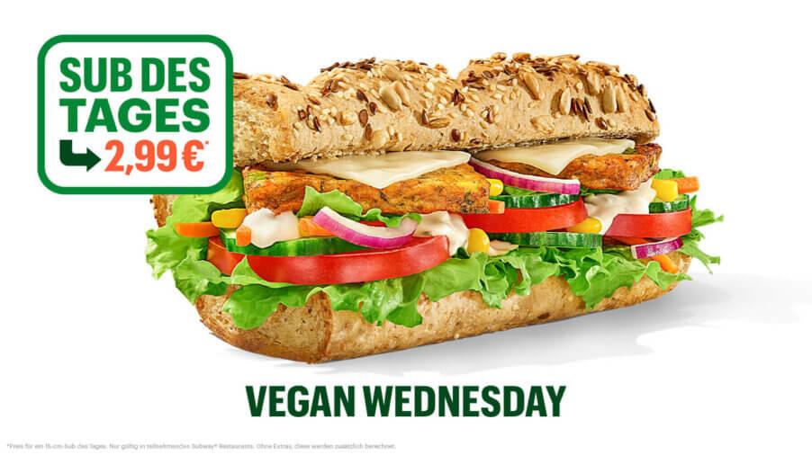 Subway - Sub des Tages - Spicy Vegan Patty